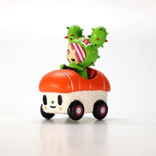 "Tokidoki Open Box Sushi Car 2.5"" Vinyl Figure - SANDy: Salmon Super Sport"