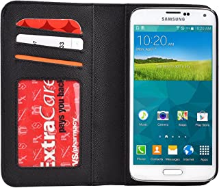 Kroo Magnetic Wallet for Samsung Galaxy S5 - Frustration-Free Packaging