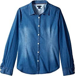 Classic Denim Shirt (Big Kids)