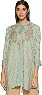 Women's Cotton Dobby Regular Kurta