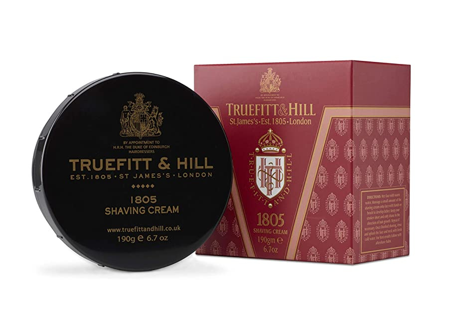 Truefitt & Hill Shave Cream Bowl-1805 (6.7 oz)