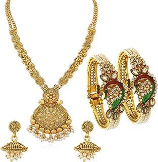 e98729b821 Sukkhi Gold Plated Jewellery Set for Women (CB73405)