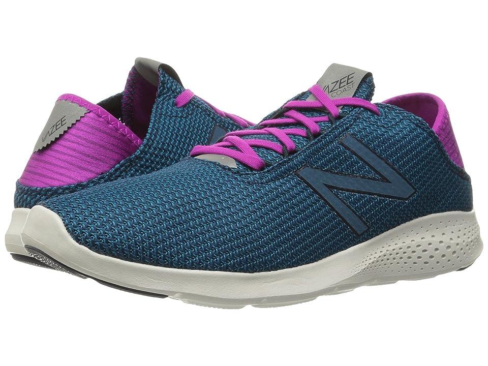New Balance Vazee Coast v2 (Teal/Purple) Women's Running Shoes, Blue