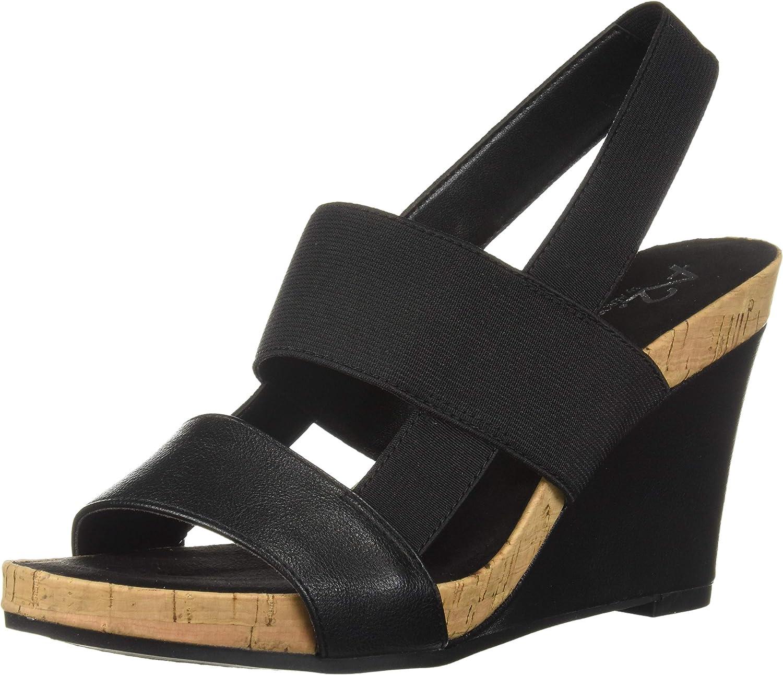 Aerosols kvinnor kvinnor kvinnor Bone Plush Wedge Sandal  online-försäljning