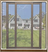 PermaStik XL Removable Bug /& Mosquito Window Screen Fits up to 78.7 x 78.7 in