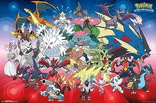 Trends International Pokemon Mega Evolutions Wall Poster 22.375