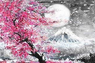 Diamond Painting Japanese Cherry Blossom by LUHSICE, 35x45cm