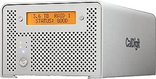 CalDigit VR2 - Dual HDD Hardware RAID - eSATA, USB 3.0/2.0, FireWire 800 & 400 (8TB)