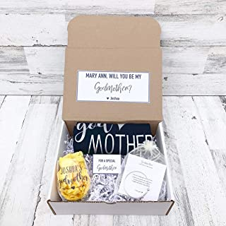 Godmother Gift - Personalized Godmother Box - Will you be My Godmother Box