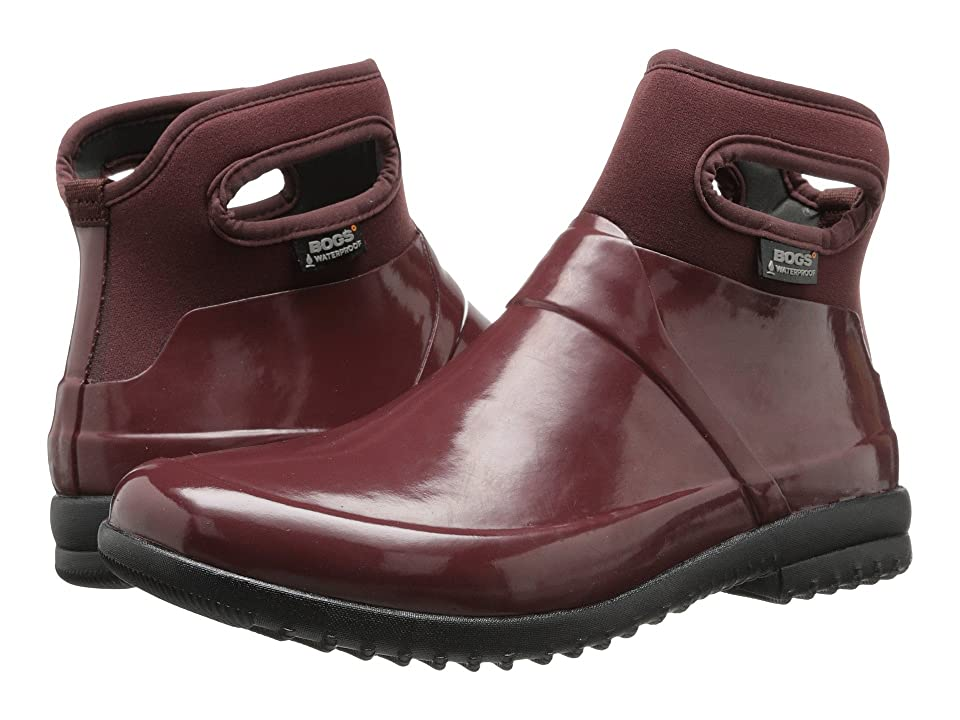 Bogs Seattle Solid Mid (Raisin) Women