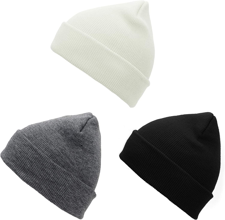Men's Beanie Caps Classic Winter Hats Mens Beanies Warm Skull Cap Unisex Daily Headwear