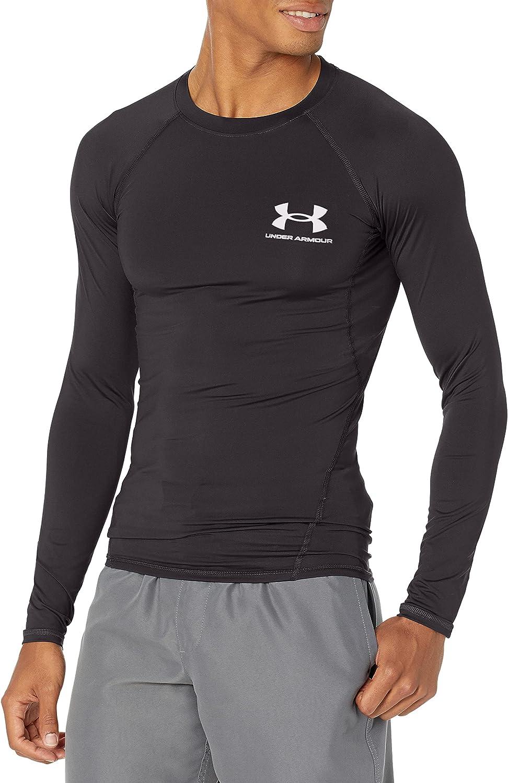 Under Armour Men's Standard Rashguard, Compression Fit & Flat Seams, Short Sleeve & Long Sleeve Designs