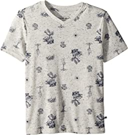Lucky Brand Kids - Short Sleeve Print Tee (Little Kids/Big Kids)