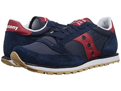 Saucony Originals Jazz Low Pro (Navy/Red) Men