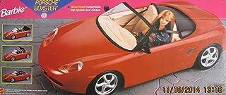 BARBIE PORSCHE BOXSTER Sports CAR Vehicle w MOTORIZED CONVERTIBLE TOP Opens/Closes (1998)