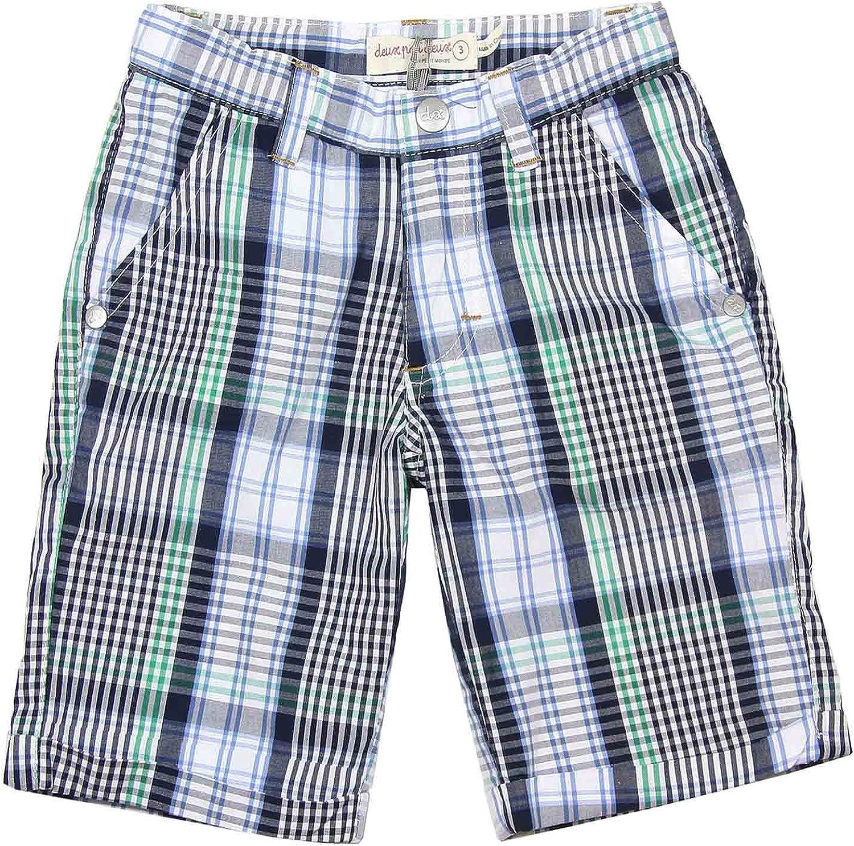Deux par Deux Boys' Plaid Shorts Woody Buddy, Sizes 18M-6