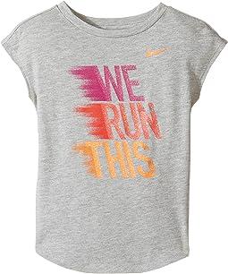 We Run This Modern Short Sleeve Tee (Toddler)