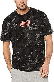PUMA Men's CAMO Pack AOP TEE, Iron Gate/AOP