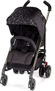 Diono Flexa - City Ready Umbrella Stroller, Black Platinum