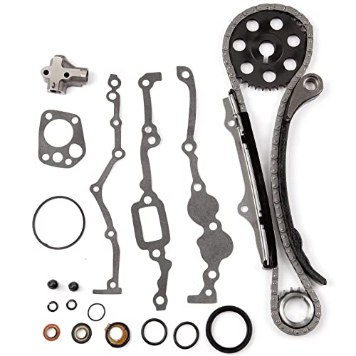 ECCPP TK3005 Fits Nissan PICKUP 240SX 2.4L SOHC KA24E 1989-1997 Timing Chain Kit