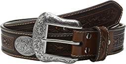 Large Oval Concho Embossed Belt