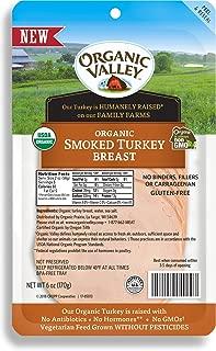 Organic Valley, Organic Smoked Sliced Turkey Breast - 6 oz