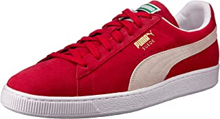 PUMA Adult's Suede Classic Red/Wht