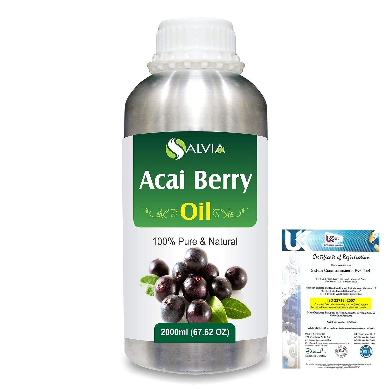 Acai Berry Euterpe Oleracea Max 46% OFF Cold Carrier Fashion Oil Natu Pressed 100%