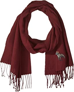 Polo Ralph Lauren Conversational Embroidery Scarf
