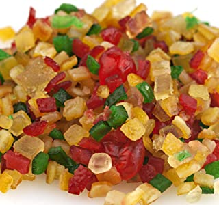 Paradise Fruit Diced Glazed Holiday Fruit Mix- Bulk 10 lbs.
