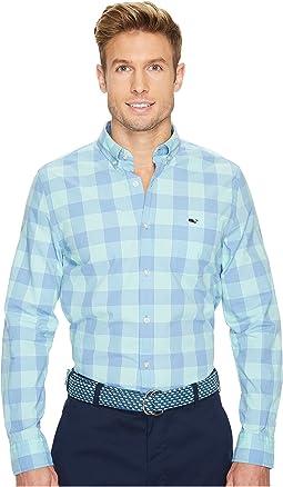 Vineyard Vines - Hideaway Check Slim Tucker Shirt