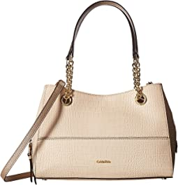 Calvin Klein - Novelty Pebble Chain Satchel