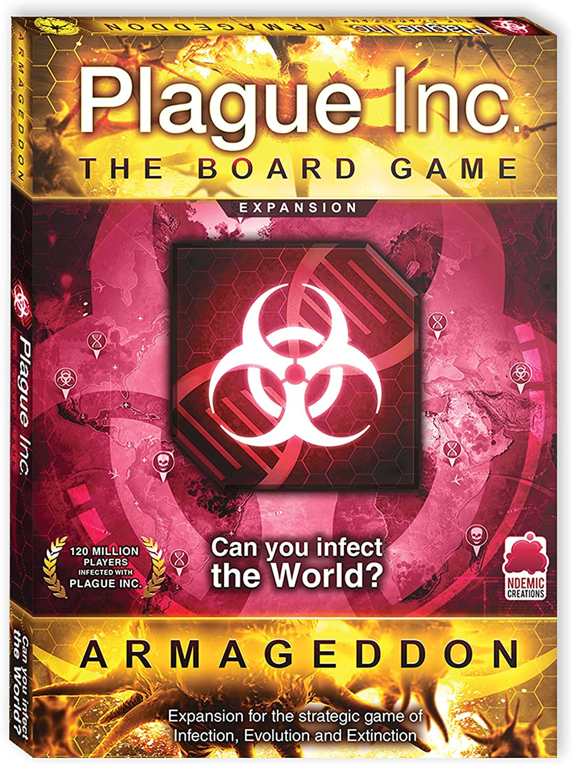 Plague Large-scale sale Inc. Board Max 75% OFF Game for Expansion Strategy Adult