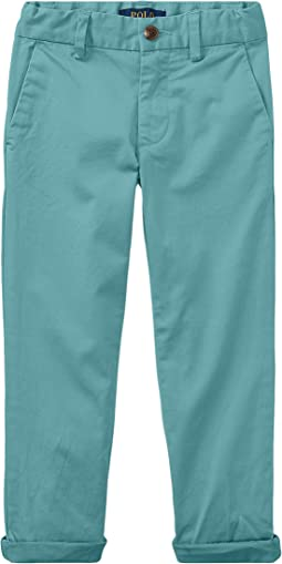 Polo Ralph Lauren Kids Stretch Cotton Skinny Chino Pants (Little Kids)