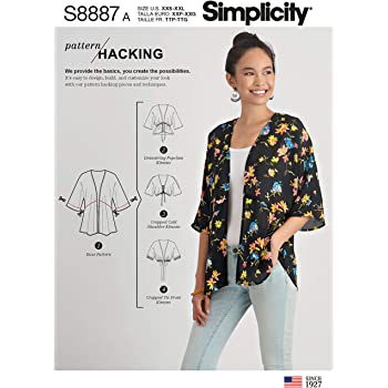 Simplicity  8610 Misses/' Kimono Jumpsuit and Dress  Sewing Pattern