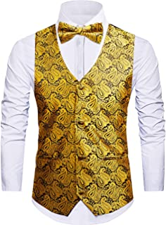 daa40073953 Cyparissus Mens Vest Waistcoat Men s Suit Dress Vest for Men or Tuxedo Vest