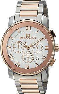 ساعة اوشينت للرجال ريفيرا كوارتز مع حزام من الستانلس ستيل، بلونين 22 (OC0337)