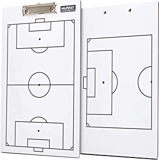 Murray Sporting Goods Dry Erase Double-Sided Soccer Coaches Clipboard