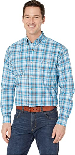 20X Long Sleeve Button Down Plaid