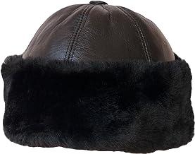 Raintopia Impermeabile Caldo Colore: Nero o Colori Colore: Cachi Bordo in Finta Pelliccia Cappello Modello Colbacco Unisex Invernale