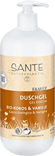 Sante Naturkosmetik 42314 gel de ducha Unisex Cuerpo Coco, Vainilla 950 ml - Geles de ducha (Adultos, Unisex, Cuerpo, Universal, Coco, Vainilla, 950 ml)