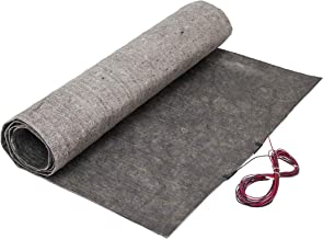 12 Sqft Radiant In-Floor Heating Mat System for Laminate and Wood Floor Heat, 240V, 3 ft x 4 ft