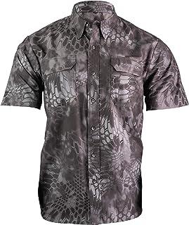 Kryptek Anemos Short Sleeve Camo Hunting & Fishing Shirt...