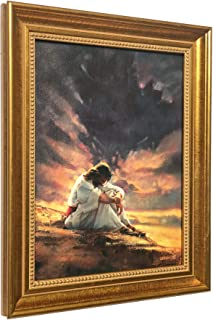 IN THE WILDERNESS - Canvas Framed Ron DiCianni Jesus Christ - Christian Art Print