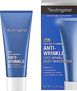Neutrogena Ageless Intensives Deep Wrinkle Moisture, Night, 1.4 Ounce
