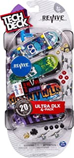 Tech Deck Ultra DLX 4 Pack 96mm Fingerboards - Revive 20th Anniversary Special Edition