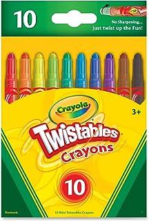 Crayola 52-9715 Twistable Crayons, 10 Count