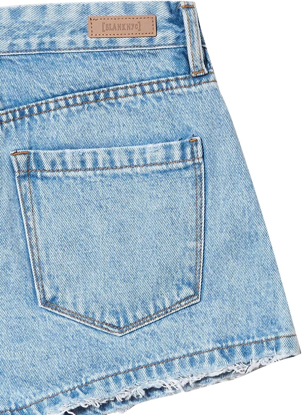Womens High Rise Five Pocket Denim Short BLANKNYC