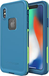 Lifeproof FRĒ SERIES Waterproof Case for iPhone X (ONLY) - Retail Packaging - BANZAI (COWABUNGA/WAVE CRASH/LONGBOARD)