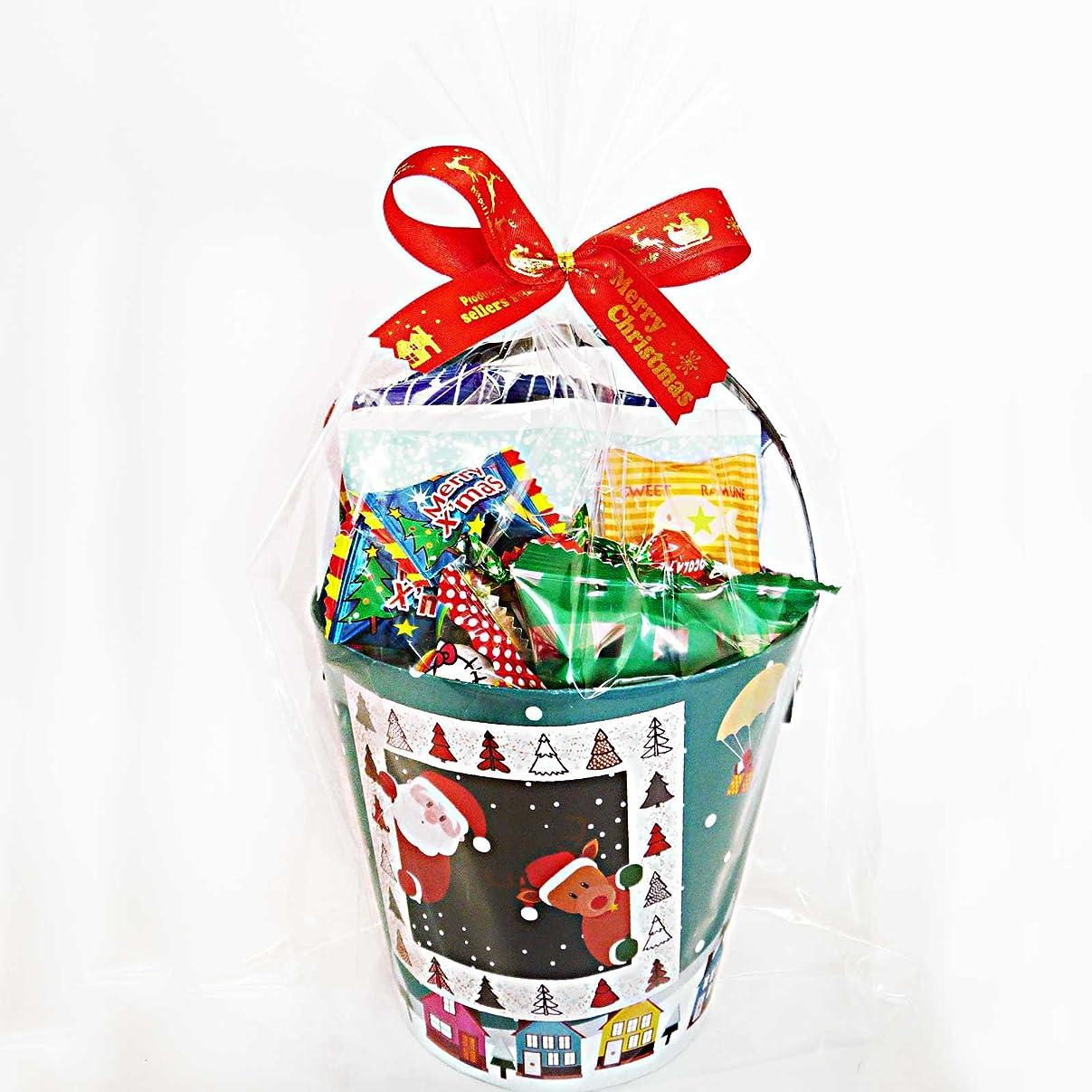 研究所憧れ遠洋のクリスマスお菓子 詰め合わせ クリスマス会 子ども ギフト プレゼント クリスマスバケツ8個入り